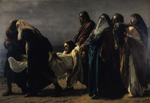 Antonio Ciseri: Il trasporto di Cristo al sepolcro (The transport of Christ to the sepulcher)