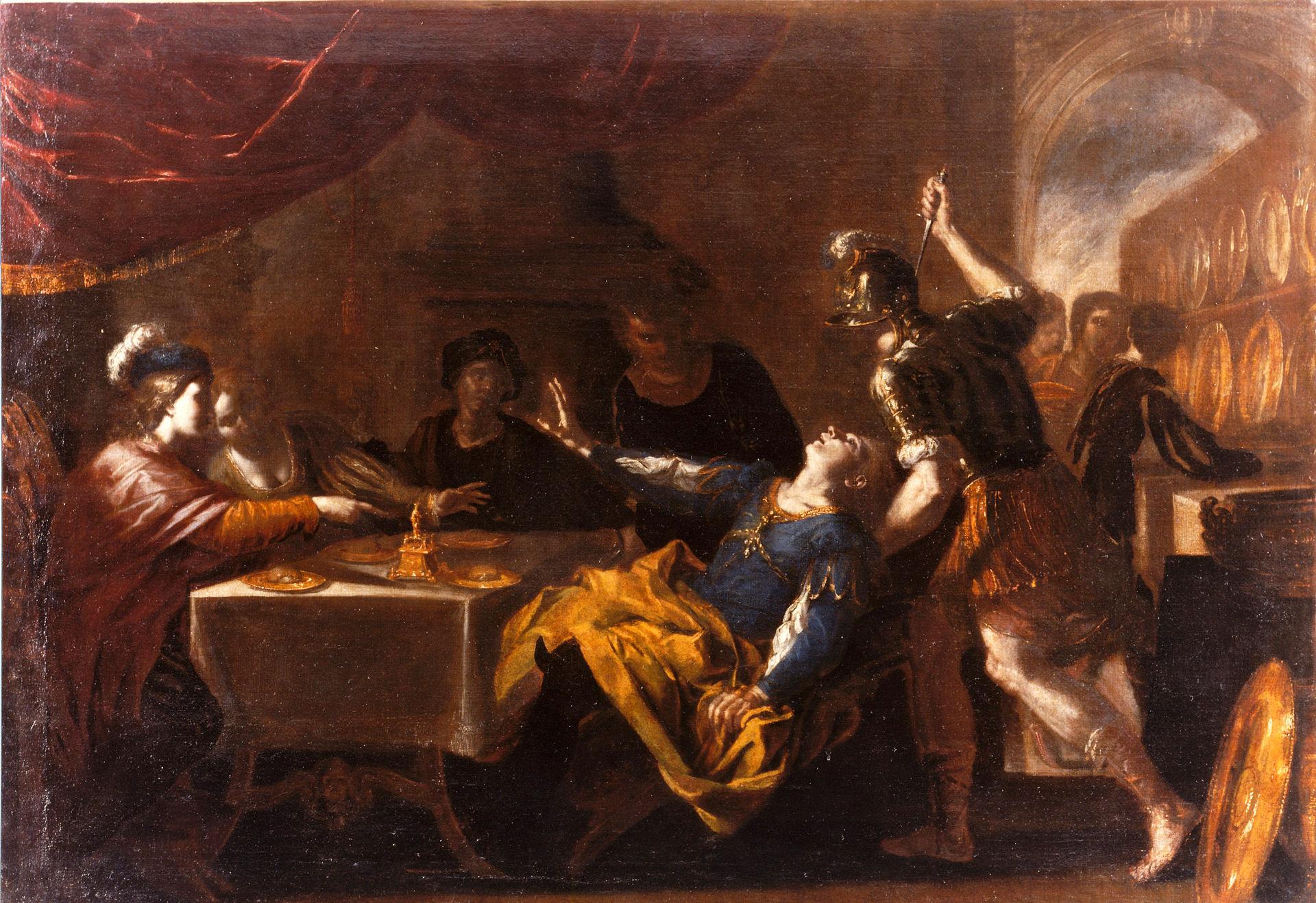 Banquet of Absalom, Niccolò De Simone