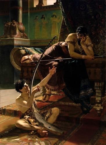 Julius_Kronberg_David_och_Saul_1885